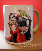 Tiger and Bunny coffee mug by TonboIchinomiya