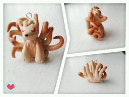 Pokemon Ninetails Charm by love-dolly