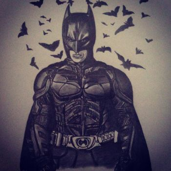 BATMAN by Only1Stevey