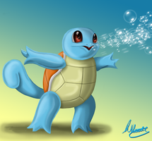 Squirtle Speedpaint by SonARTic