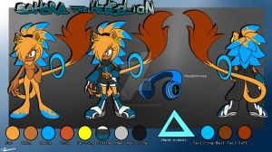 Sahara the Hedgelion reference by SEGAmastergirl