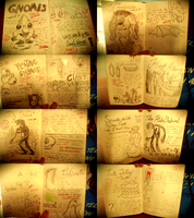 all my pages so far by painishilarious