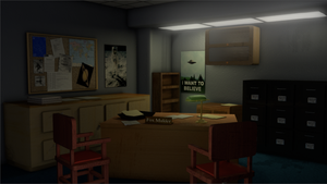 Mulder's Office Remastered by FluffyPocket