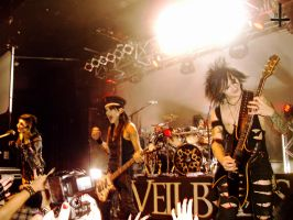 Kerrang! Tour: Black Veil Brides by Kagoe