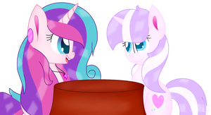 Talking About Hair [Collab] by Candy-Heartswirl
