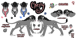 Feline Cherry Fursona by Cherry-Cz