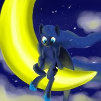 mistress of the night sky by thelunarsea