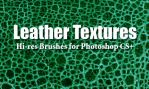 10 Leather Textures PS Brushes by fiftyfivepixels