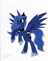 Princess Luna V2 by ArtStude3n2