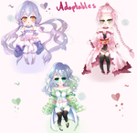 ~Adoptables~ { OPEN } by Chioyin