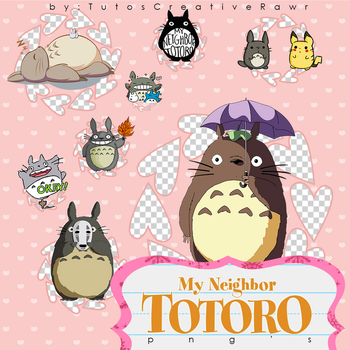 Totoro Png's by iTutosCreativeRawr