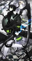 Fanart Black Rock Shooter by DigitalOme