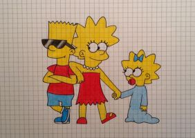 Request - Simpson kids by PnFlover98