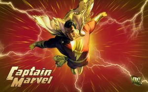 Captain Marvel - Courage of Achilles! by Superman8193