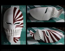 Bleach- Ichigo's Vizard Mask by danielledemartini