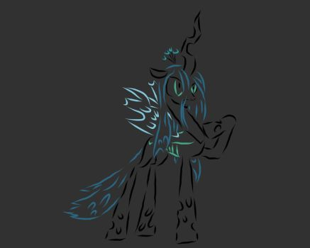 Queen Chrysalis by GridKagamine