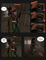 Batwoman and Robin: Cat Toys pg.2 by EthereaS