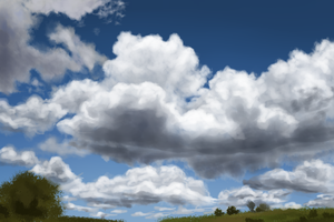 Cloud Speed Study 3 by Ametystical