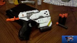 Cerberus Nerf Element (Hornet) by Bazzatron