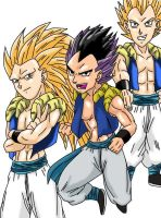 Anime Classics DBZ Gotenks by Wyvern07