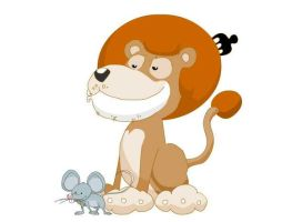mause and the lion da king by ARTOON