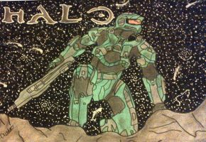 Master Chief - Halo 4 by starscreamfan10100