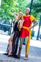 Dirk the Daring and Princess Daphne 1 by Insane-Pencil