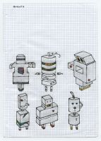 Robots by maria-in-motion