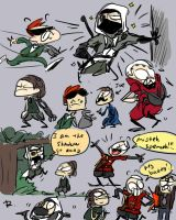 Bionic Commando, doodles 17 by Ayej