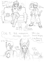 Doodles - 20130929 by Nestkeeper
