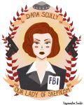 Dana Scully by theblamelessflame