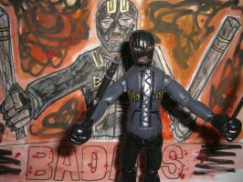 BAD-ASS ACTION FIGURE WITH POSTER 01 by ztenzila