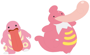 Lickitung and Lickilicky Base