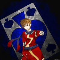 knight of spades by StrawberryCrescent