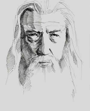 Gandalf by Paskhalidi