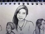 Random Girl Sketch by ShannonSP2