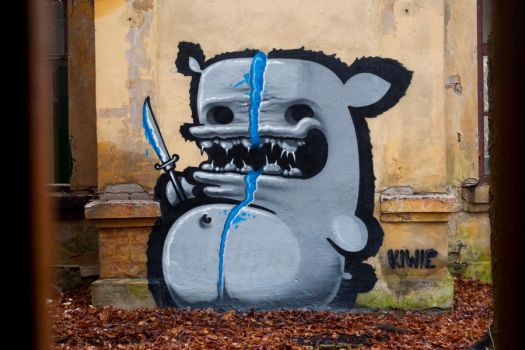BLUE by KIWIE-FAT-MONSTER