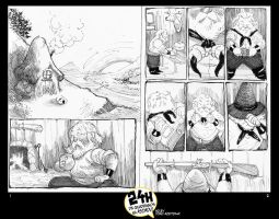 24 Hours of Comic_Result pages 1_2 by AZEITONA