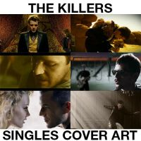 The Killers Singles Cover Art by Gleekingsongalbums