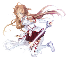 Sketch.Asuna by crys-art