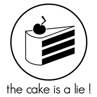 the cake is a lie by theShad0w
