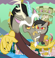 Bella Discordia In Chaos by MLP-Scribbles