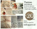 NEW SKETCHBOOK TATTOO DESIGNS ALL NEW by jerrrroen