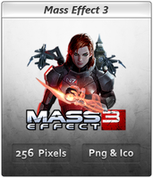 Mass Effect 3 - Icon 3 by Crussong