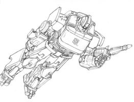 Ironhide pencils by Migdul