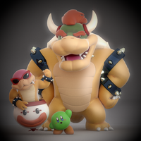 My Smash 4 Mains!! by SmashingRenders
