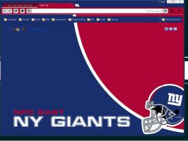 NY Giants Theme by wPfil