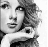 Taylor swift- Pencil by Mannyb1992