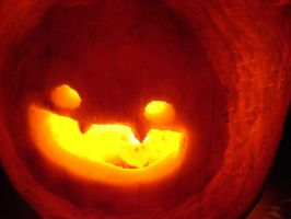 Another Gastly Pumpkin by ObsidianEnderman