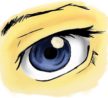 eye by honeychon